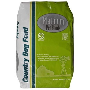 Platinum Pet Foods Country Dog Food