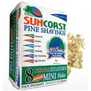 Suncoast® Mini Flakes Pine Shavings
