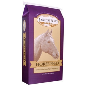 Country Acres 10% Pelleted Horse Feed