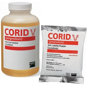 Corid® Amprolium Liquid and Powder