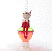 Elf on the Shelf Bubble Night Light by Roman Lights