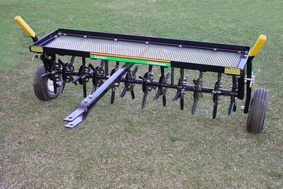 Turf Vent Towable Plug Aerator