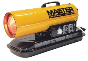 Master 70,000 BTU Kerosene Forced-Air Heater