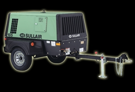 Sullair Portable 185 Air Compressor