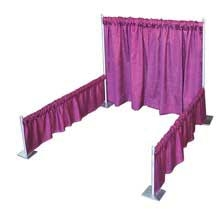Booth Display, 3' Curtain