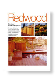 Redwood Fences - Practical Elegance