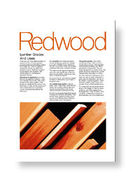 Redwood Grades & Uses
