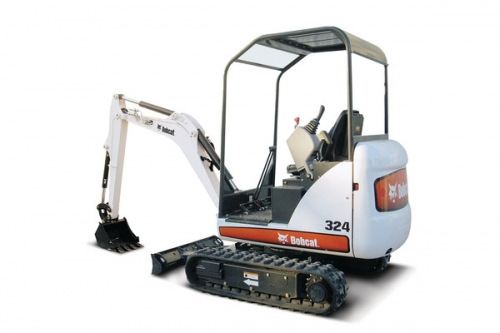 Backhoe/ Mini Excavator 8' 6''