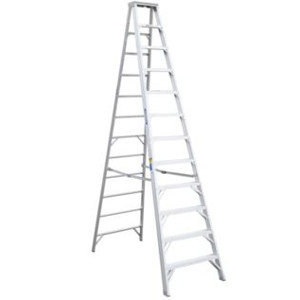 Aluminum Step Ladder - 12' Type IAA