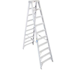 Aluminum Step Ladder - 10' Type IAA
