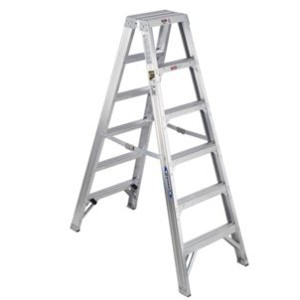 Aluminum Multi-use Twin 6' Step Ladder