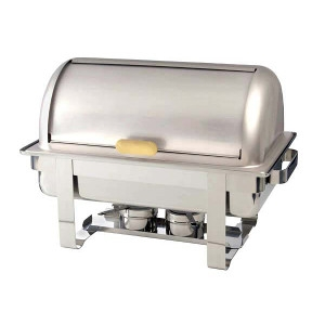 Adcraft 8 Quart Grand Prix Roll Top Chafing Dish