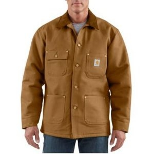 Carhartt Men's Duck Chore Coat/Blanket-Lined