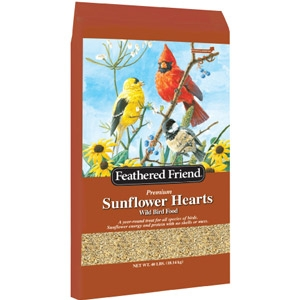 Feathered Friend Sunflower Hearts