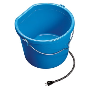 Allied Precision Heated 10-quart Flat Back Bucket