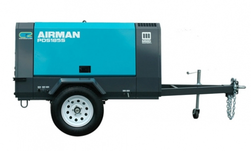 Compressor, Towable 185 CFM