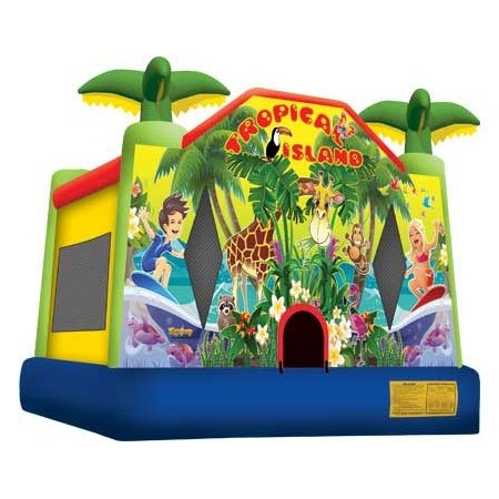 Bounce House, Tropical Island