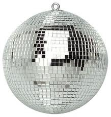 DISCO, BALL WITH 2 LIGHTS 16