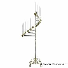 CANDLEABRA, 15 LIGHT SWIVEL PAIR