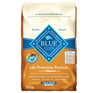 Blue Buffalo Senior Large Breed Chicken & Brown Rice Life Protection Formula