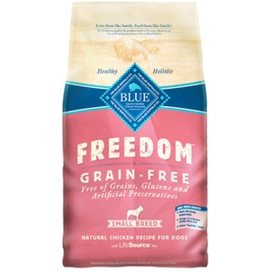 Blue Buffalo Freedom Grain Free Chicken Small Breed Adult Recipe