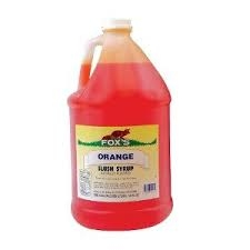 SNOW CONE SYRUP, ORANGE