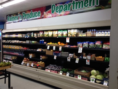 Rainy's Produce Department
