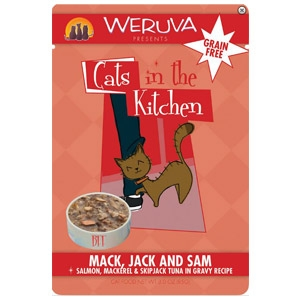 Weruva® Mack, Jack & Sam Cat Food Pouch