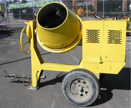 6 Cu. Ft. Towable Concrete Mixer