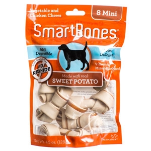 SmartBones Mini Sweet Potato Vegetable & Chicken Chews