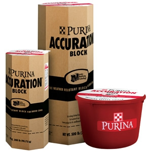 Accuration® Block Cattle Supplement