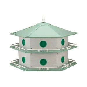 Heath™ 12 Room Purple Martin House