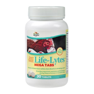 MannaPro® Life-Lytes MEGA TABS Poultry Supplement