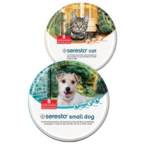 Seresto™ Dog & Cat Flea & Tick Collars