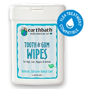 Earthbath Tooth/Gum Wipes