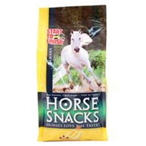 Start to Finish Banana Horse Snacks