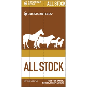 Crossroads All Stock 10% Pelleted Feed