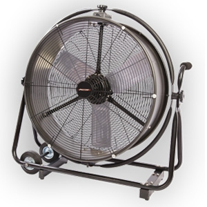 "Pinnacle Products 24"" Omni Direct Drive Drum Fan"