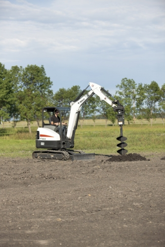 Bobcat Post Hole Auger Attachment 24