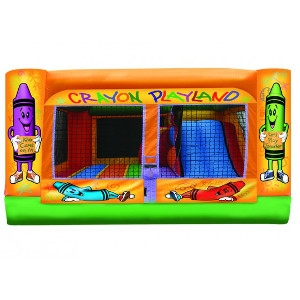 Crayon Jump House, 3-in-1