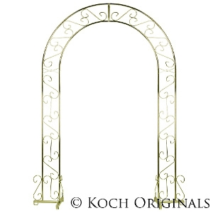 Wedding Arch - 92'' - Brass