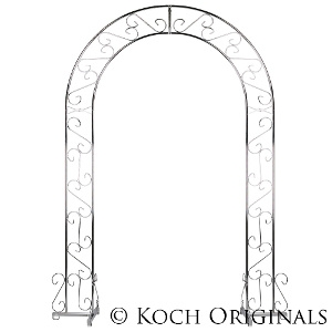 Wedding Arch - 92'' - Nickel