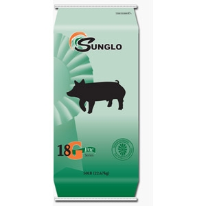 Sunglo® 18 G-Line Meal Feed for Pigs
