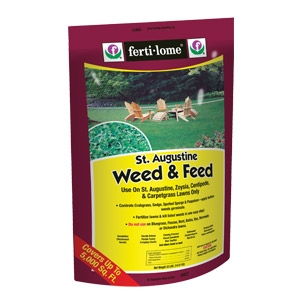Ferti-lome® St. Augustine Weed and Feed 15-0-4