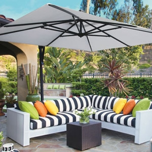 Treasure Garden® Easy Track® Patio Umbrellas