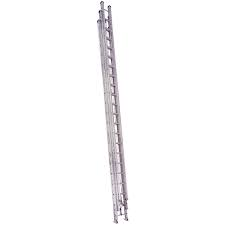60' Aluminum Type l Extension Ladder