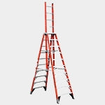 10' Fiberglass Trestle Type IA  Ladder