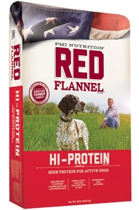 Red Flannel™ Hi-Protein Formula Dog Food 50 lb.