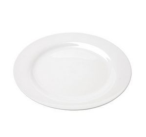 Classic White Rim China 10.5 Dinner Plate