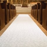 Aisle Runner, White 25ft